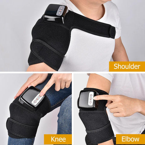 Rechargeable Heated Knee Brace | Joint Heat Massager