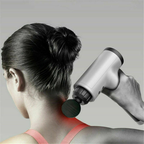 Portable Massage Gun 6 Speed For Deep Tissue Percussion & Muscle Recovery