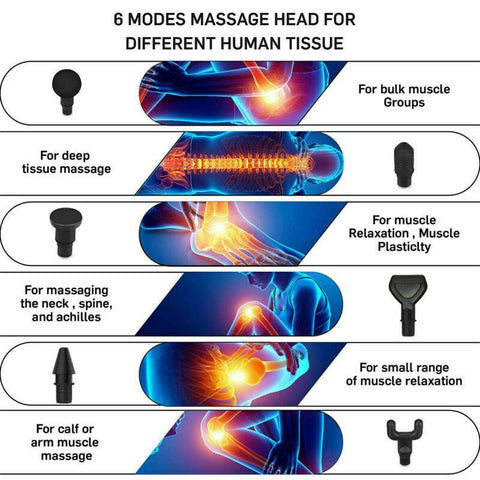 Massager Pro Massage Gun Percussion For Deep Tissue Muscle Recovery