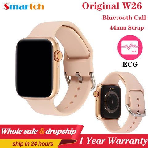 W26 Pro Smart Watch Fitness Tracker