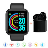 Health and Fitness Smart Watch w/Headphones