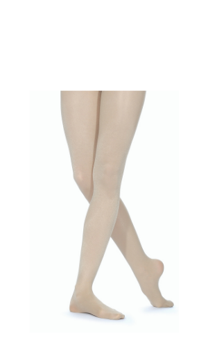 SHIM Full Foot Shimmer Tights