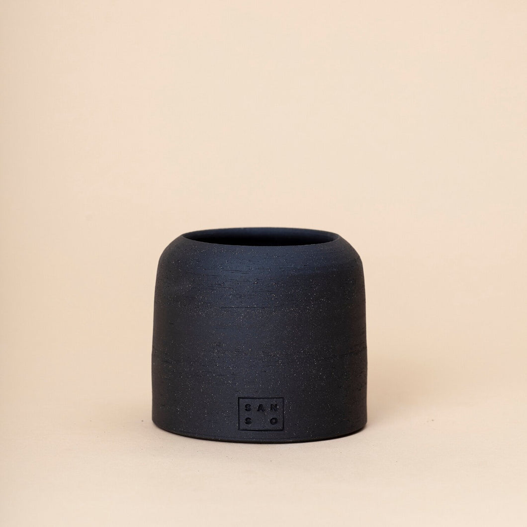 Small Dome Planter, Black