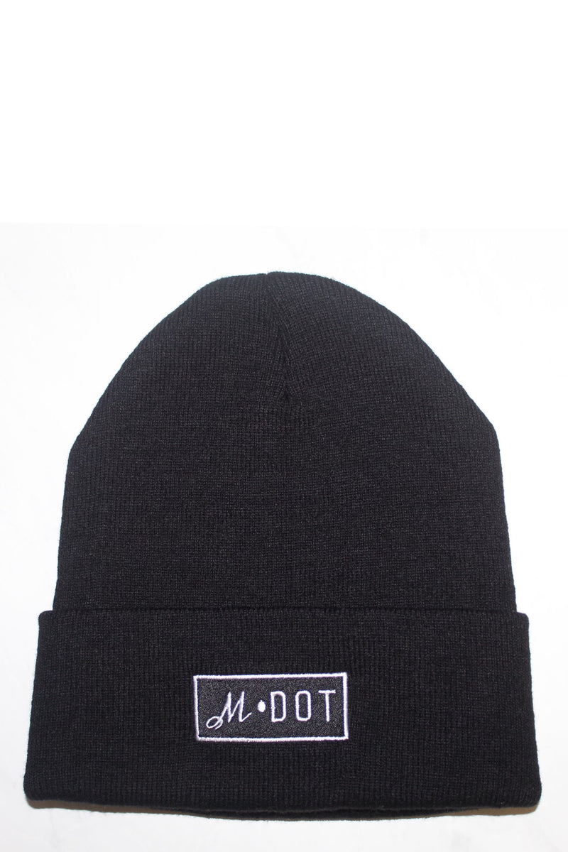 'THE OFFICIAL MDOT' BEANIE (Black)