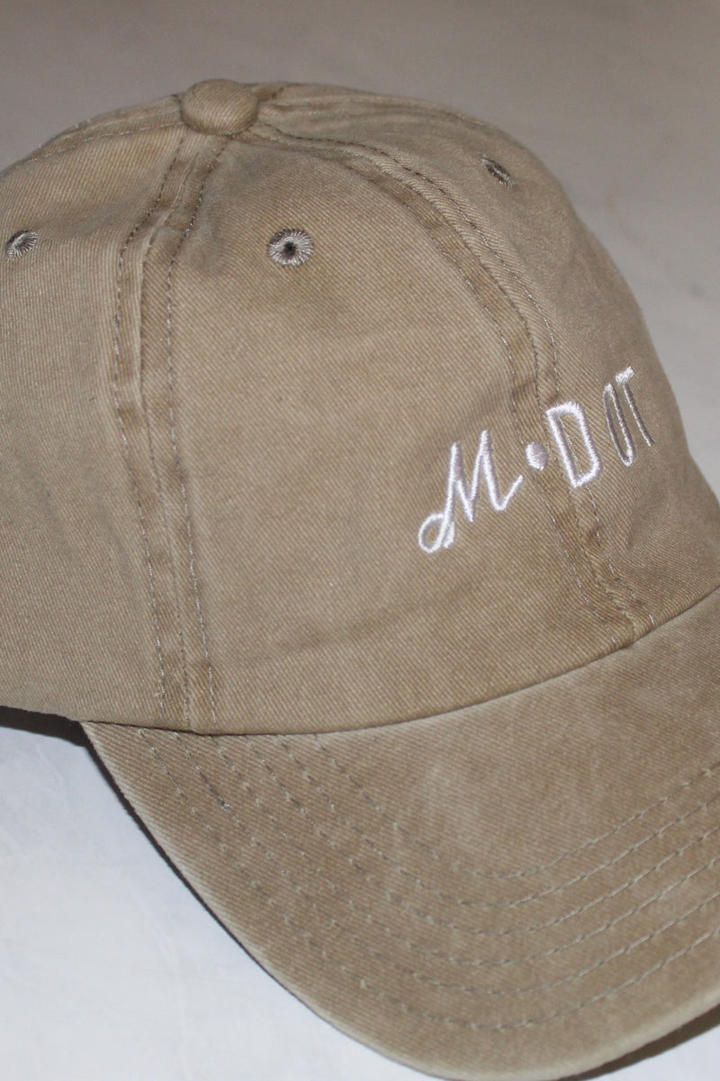 'THE OFFICIAL MDOT' DAD HAT (Washed Khaki)
