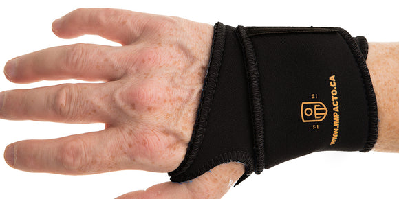 Viscolas Thermo Wrap Wrist support helps prevent RSI.