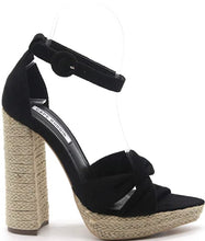 Load image into Gallery viewer, Donna Sandals-Black