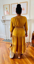 Load image into Gallery viewer, Out For The Day Dress-Mustard