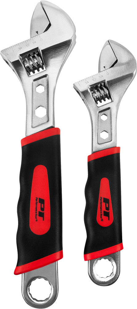 2PC ADJUSTABLE WRENCH SET