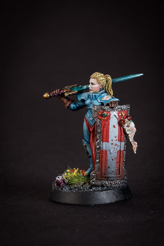Joann de Moley - Female Crusader