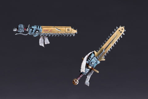 Eviscerators with Armoured Gloves Weapon Set