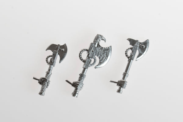 Power Axes with Armoured Gloves (small)