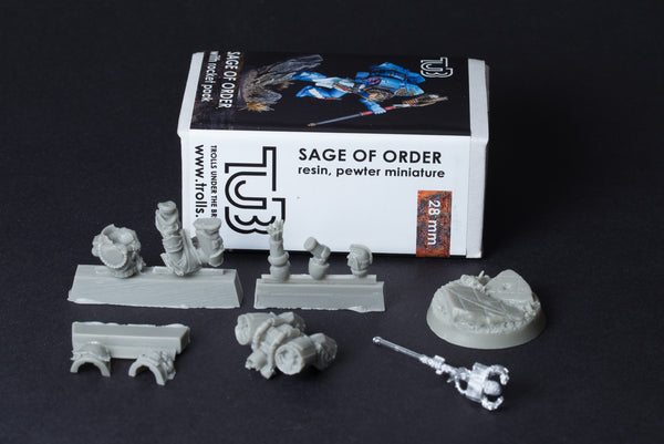 Sage of the Order with Jet-Pack