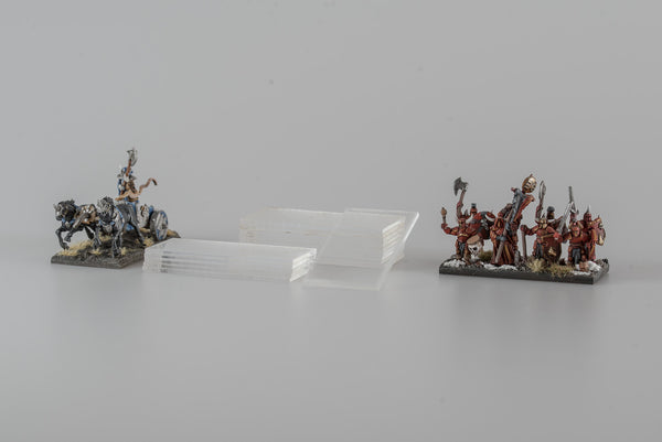 Acrylic Warmaster Bases/Stands