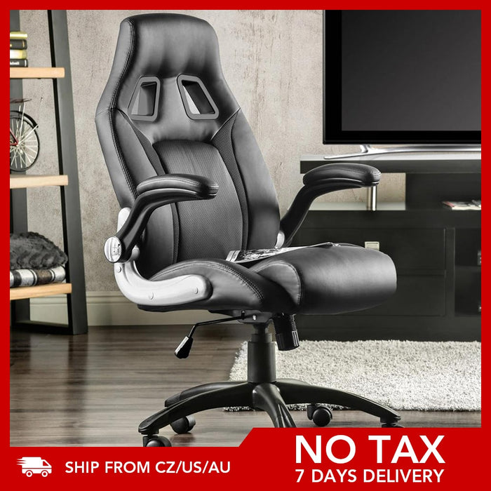 Gaming Chair Office Chair Swivel Chair Height Adjustable Gaming Chair PC Chair Ergonomic Executive Chair with Armrests|Office Chairs|