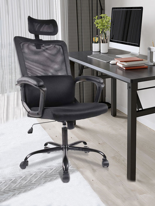 Ergonomic Mesh High Back Office Chair Black