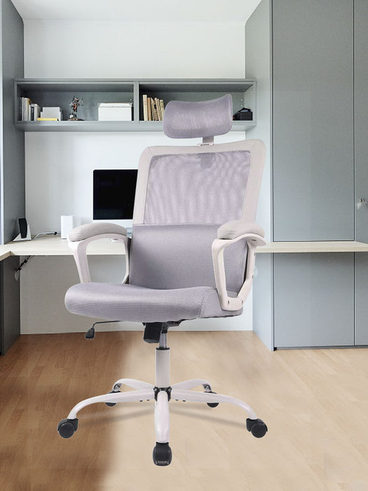 Ergonomic Mesh High Back Office Chair Grey
