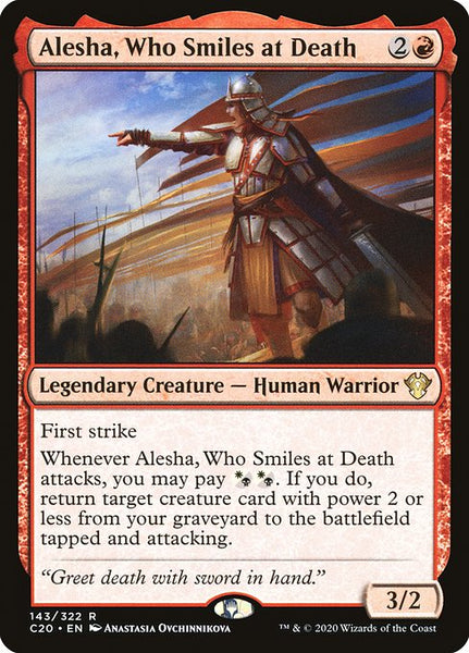 Alesha, Who Smiles at Death [C20]