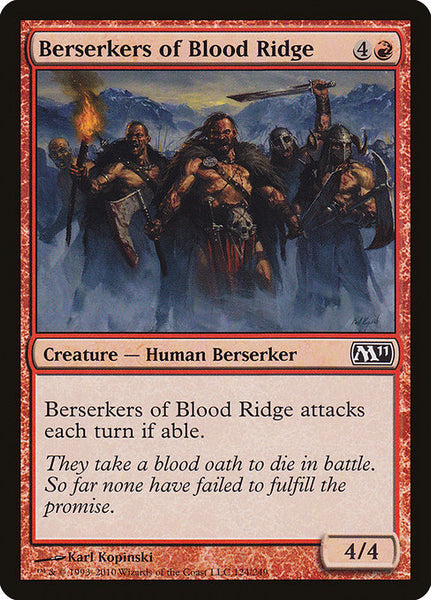 Berserkers of Blood Ridge [M11]