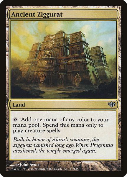Ancient Ziggurat [CON][Foil]