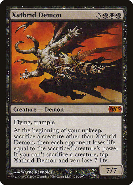 Xathrid Demon [M10]