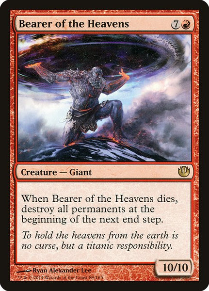 Bearer of the Heavens [JOU]