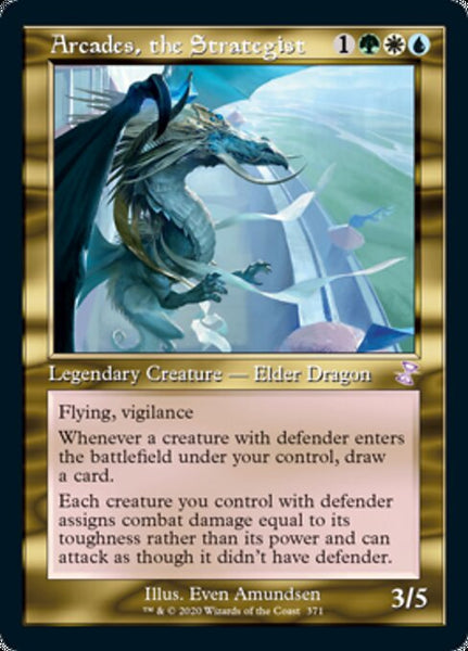 Arcades, the Strategist [TSR][Foil]