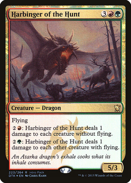 Harbinger of the Hunt [PDTK][Foil]