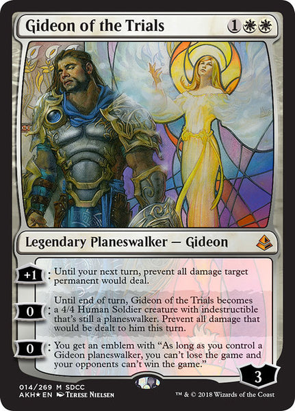 Gideon of the Trials [PS18][Foil]