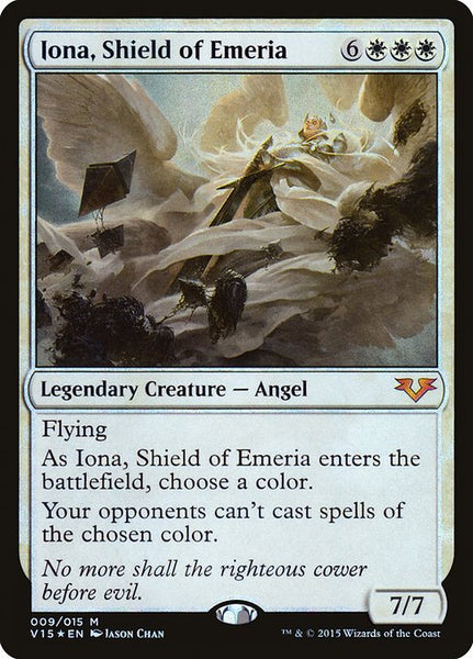 Iona, Shield of Emeria [V15][Foil]
