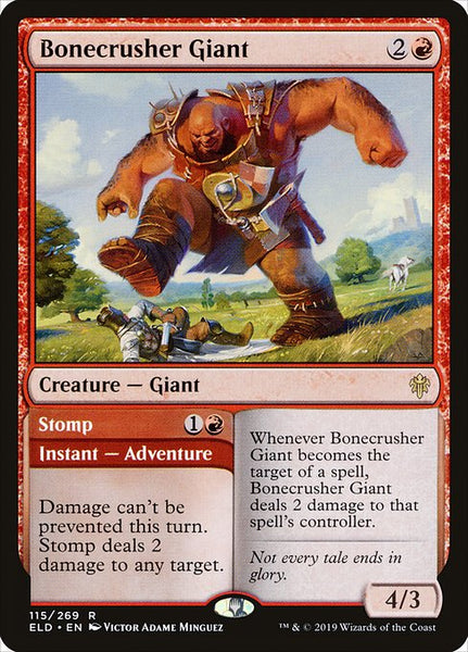 Bonecrusher Giant // Stomp [ELD]