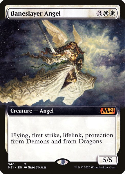 Baneslayer Angel [M21][Foil][Extended Art]