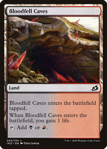 Bloodfell Caves [IKO][Foil]