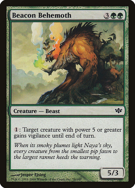 Beacon Behemoth [CON][Foil]