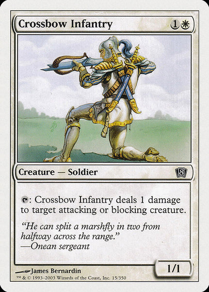 Crossbow Infantry [8ED]