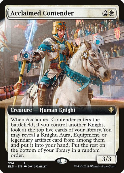 Acclaimed Contender [ELD][Extended Art]