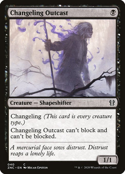 Changeling Outcast [ZNC]