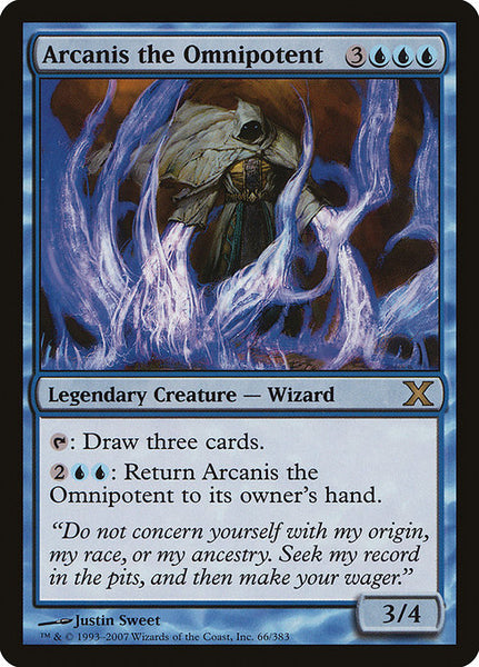 Arcanis the Omnipotent [10E][Foil]