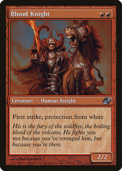 Blood Knight [PLC][Foil]