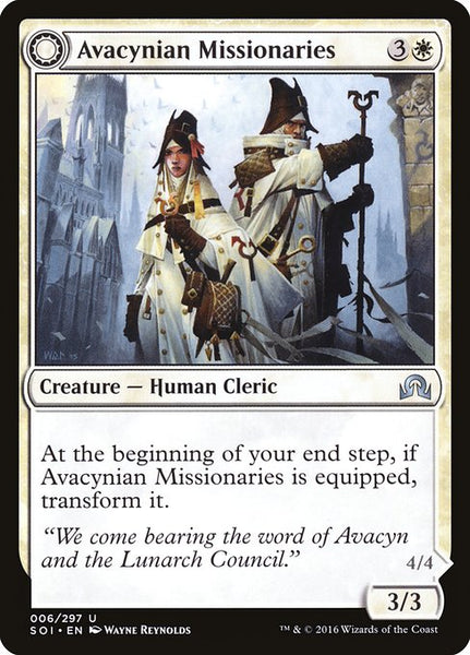 Avacynian Missionaries // Lunarch Inquisitors [SOI][Foil]