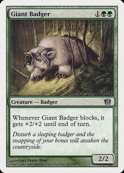 Giant Badger [8ED]