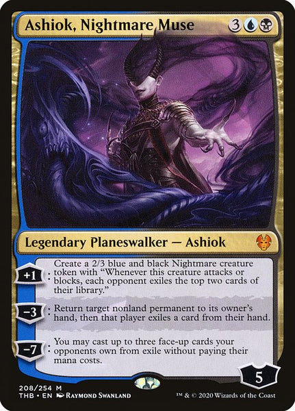 Ashiok, Nightmare Muse [THB]
