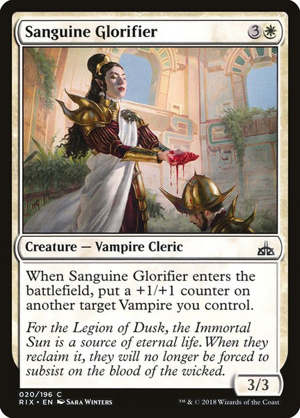 Sanguine Glorifier [RIX]