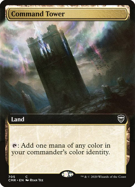 Command Tower [CMR][Extended Art]