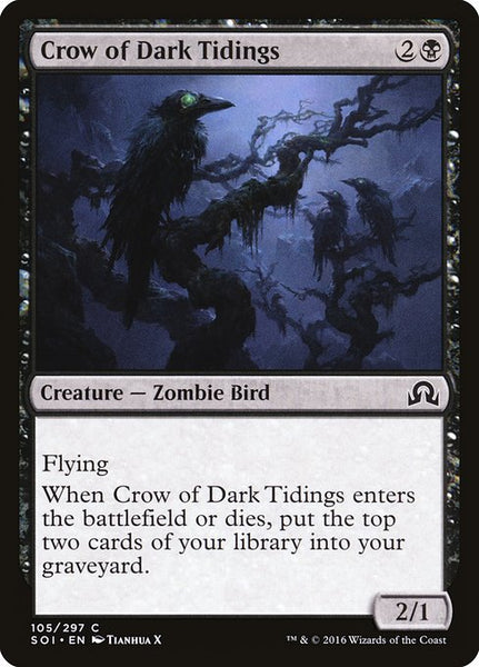 Crow of Dark Tidings [SOI][Foil]