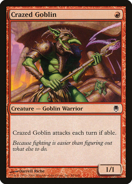 Crazed Goblin [DST][Foil]