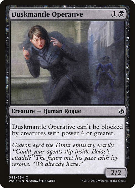 Duskmantle Operative [WAR]