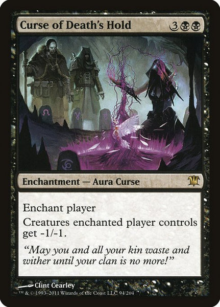 Curse of Death's Hold [ISD][Foil]
