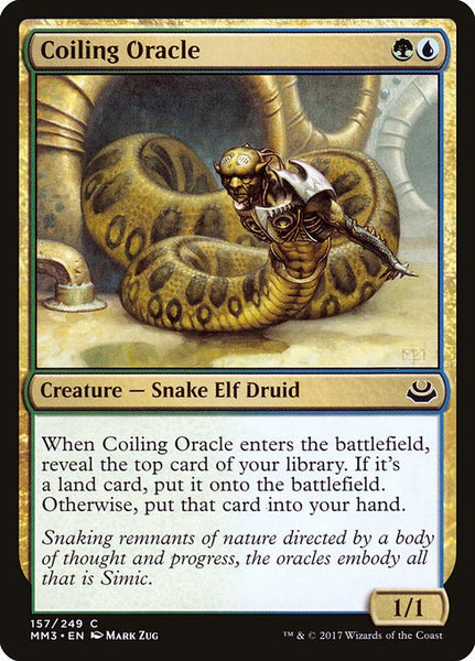 Coiling Oracle [MM3]