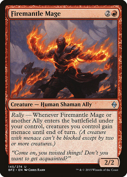 Firemantle Mage [BFZ]